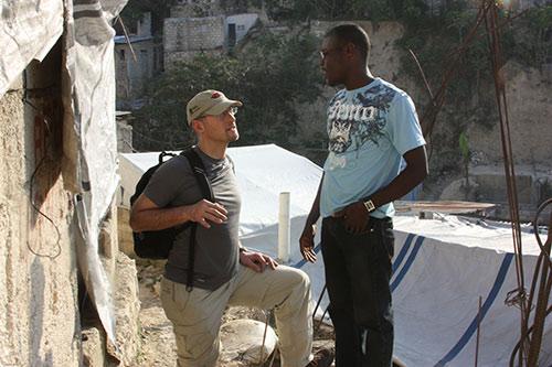 John Furlow M.D. in Haiti after the earthquake